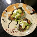 Air Fryer Stuffed Poblano Peppers