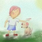 Watercolor Children's Book Painting